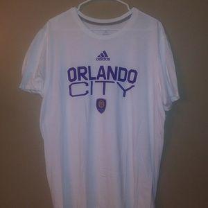 NWOT Adidas Orlando City Soccer T-shirt